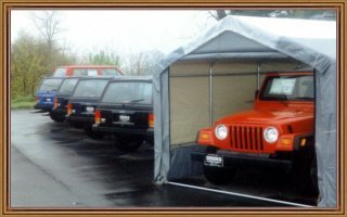 Durable Instant Garages