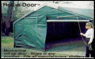 Roll-a-Door for any Instant Garages