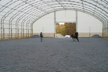 Horse shelters portable horse shelter run in sheds at for Horse barn prices